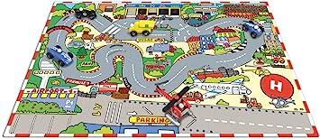 Vilac Puzzle de suelo gigante circuito de carrera (2528)