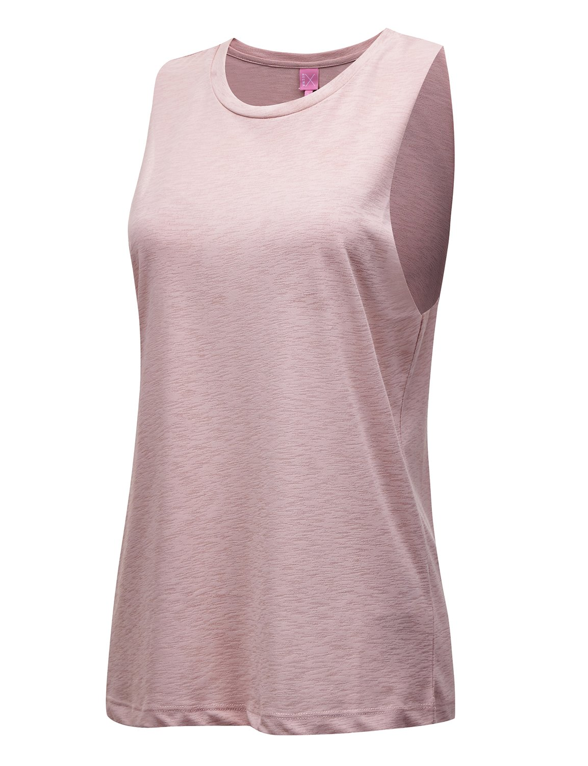 REGNA X NO BOTHER Women's Sleeveless Round neck Strappy Back Tank Top Camisole, Small, #17501_light Pink