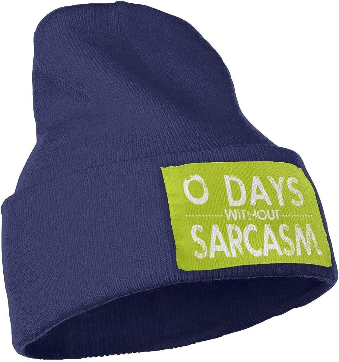 Oopp Jfhg Days Without Sarcasm 4 Wool Cap Beanie Cap Unisex Winter