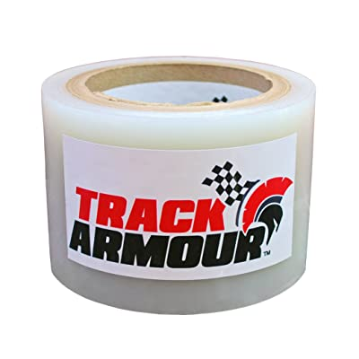 "TRACK ARMOUR TA3X100-3"" x 100' - Temporary Track Day Paint Protection Clear Adhesive Film for Car: Automotive"