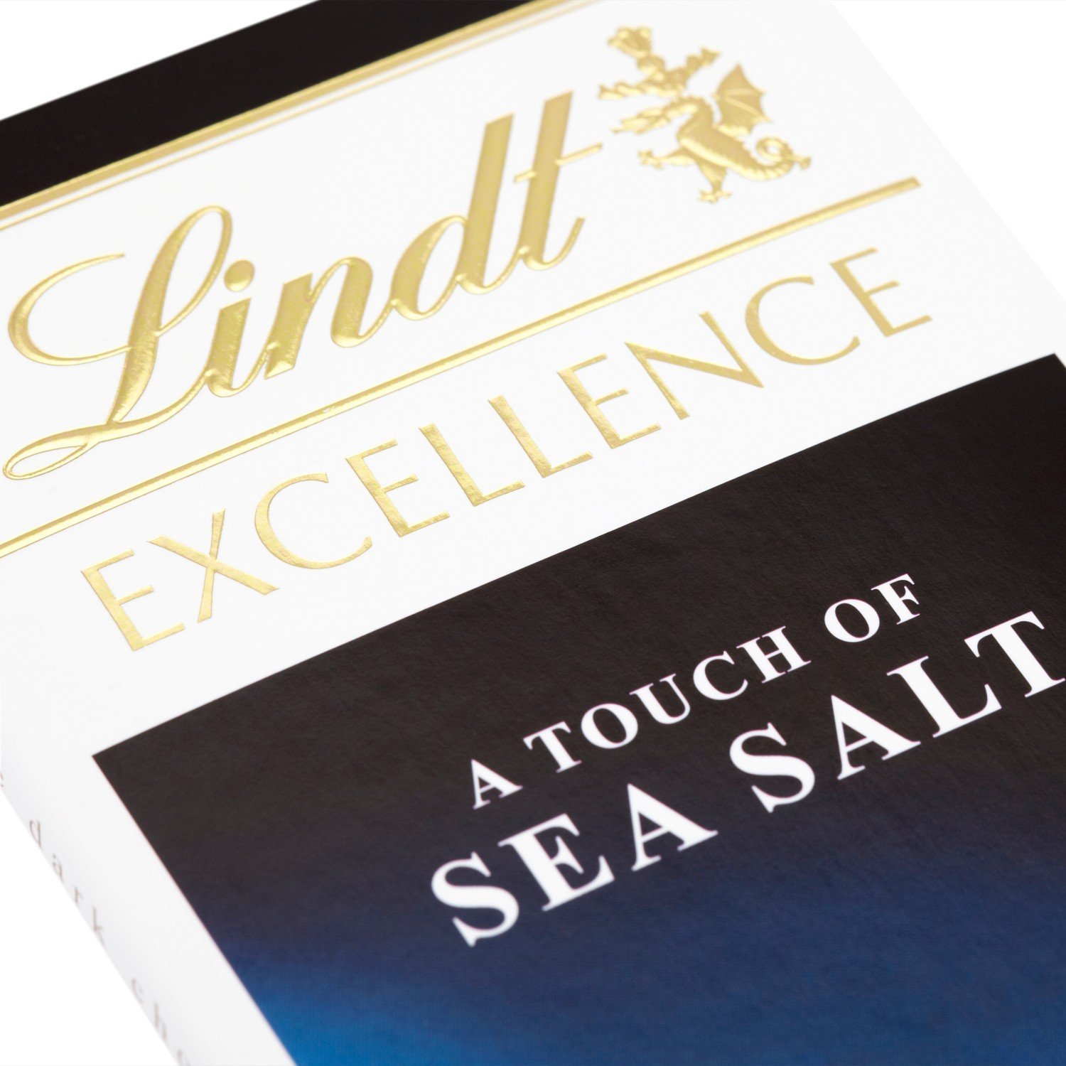 Amazon.com : Lindt - Excellence - Dark with a Touch of Sea Salt - 100g : Candy And Chocolate Bars : Grocery & Gourmet Food
