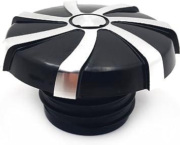 Chrome Skull Gas Cap Vented Fuel Cap for Harley XL /& Big Twin Gas Tank Cap 84-15