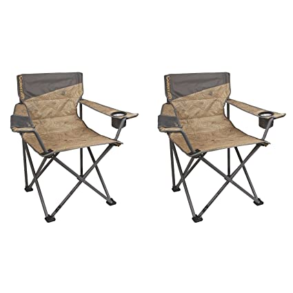 Exceptional Coleman Oversized Big N Tall Quad Camping Chairs (2 Pack) | 2