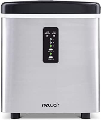NewAir, AI-100SS, Countertop Sized Small Ice Maker