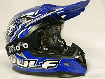 Casco niños WULFSPORT FLITE CUB MX-Casco sport motocross Off road niño Cascos Cross Quad