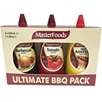 MasterFoods Ultimate Sauce , Pack of 3 (2 x 250ml & 1 x 250g)
