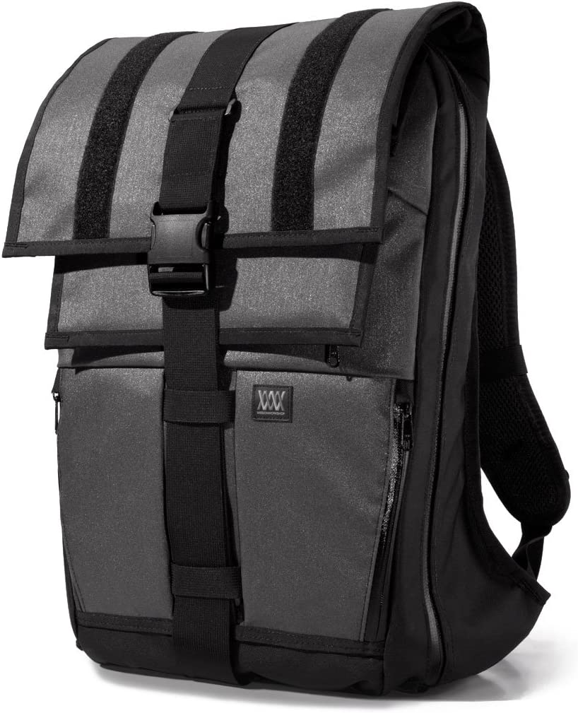 Mission Workshop Vandal 29L-64L (1,800-4,000 cu.in) Expandable Cargo Pack Backpack, Charcoal