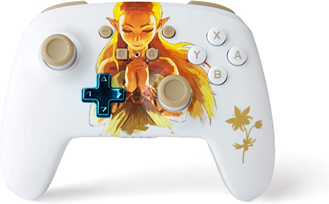 Manette Switch Princess Zelda (sans fil améliorée)