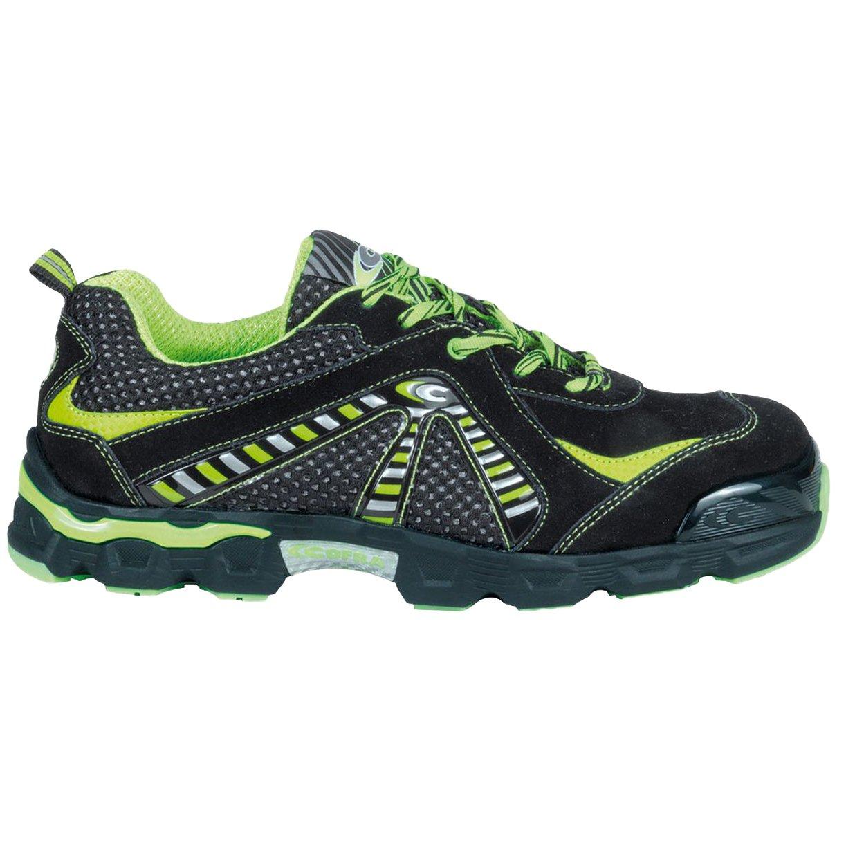 Cofra JE024–000.w43 Größe 43 S1 Fit P SRC Fit S1 Boxe Sicherheit Schuhe – Schwarz - 064691