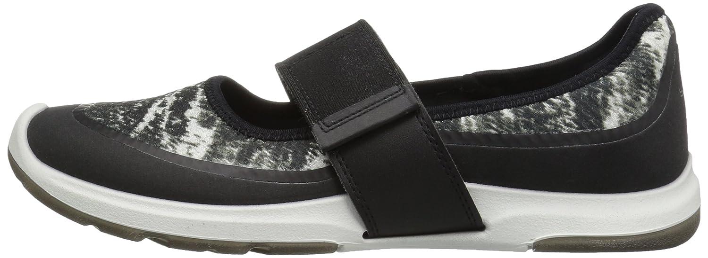 ECCO Women's Biom AMRAP Mary Jane Fashion Sneaker B01M28PMSW 42 EU / 11-11.5 US|Black/Black White