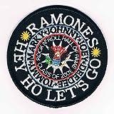 RAMONES  WAPPEN PATCH  HEY HO LET'S GO (ラモーンズ ワッペン パッチ)