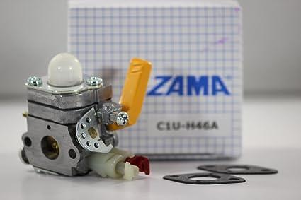Amazon.com: c1u-h46 Homelite/Ryobi carburador 984549001 ...