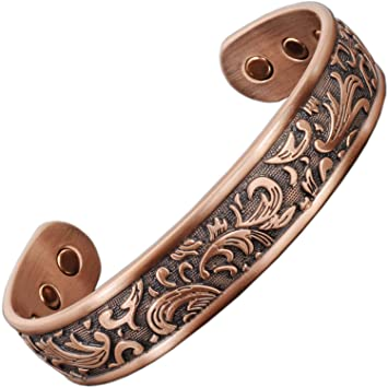Celtic Bracelet Womens Copper Bracelets for Arthritis Magnetic Bracelet-Carpal Tunnel Tendonitis Tennis Wrist Joint