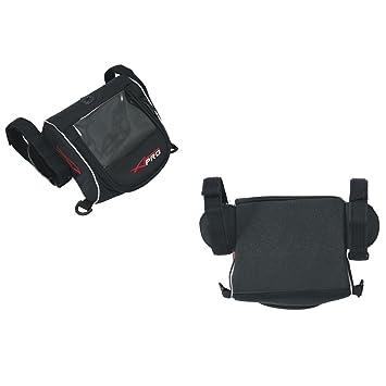A-Pro GPS Resistente al Agua Soporte Funda para GPS Navegación Tensiómetro Moto Negro: Amazon.es: Coche y moto