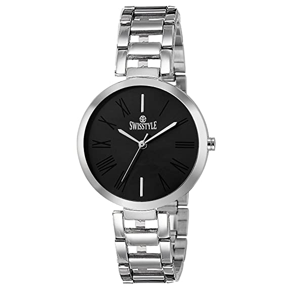 e74cf52d9be Buy Swisstyle Youth Analog Black Dial Women s Watch - LR637-BLK Online at Low  Prices in India - Amazon.in