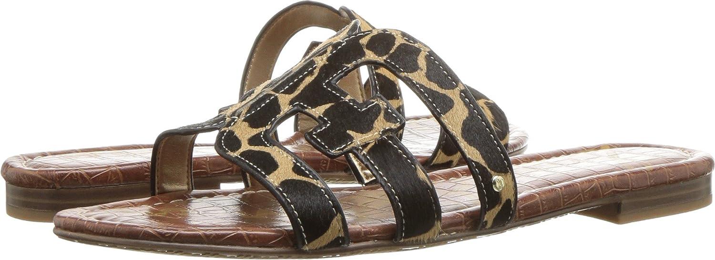 Sam Edelman Women's Bay Slide Sandal B078WG6ZJ6 9 W US New Nude Large Giraffe Brahma
