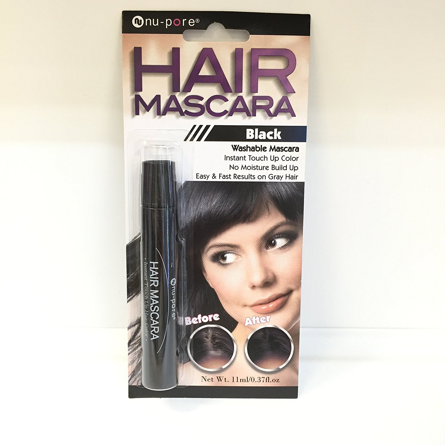 Amazon Hair Mascara Instant Touch Up Color Fast Results On Gray