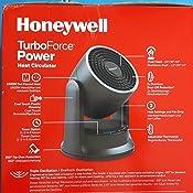 Honeywell HHF565BE4 Ventilatore//Riscaldatore ad Alta Potenza 2 Livelli di Calore