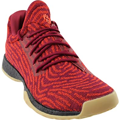 fa8a9cdc504 adidas Harden Vol. 1 LS Primeknit Shoe - Men s Basketball 8 Collegiate  Burgundy Mystery