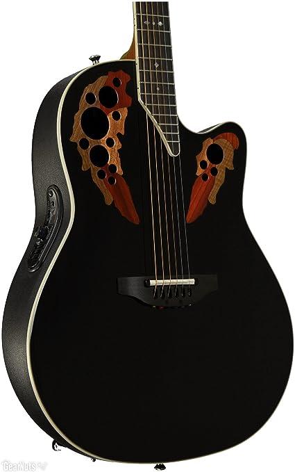 Ovation estándar Elite 2778 AX Electroacústica guitarra: Amazon.es: Instrumentos musicales