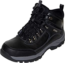 Khombu Mens Leather Boot