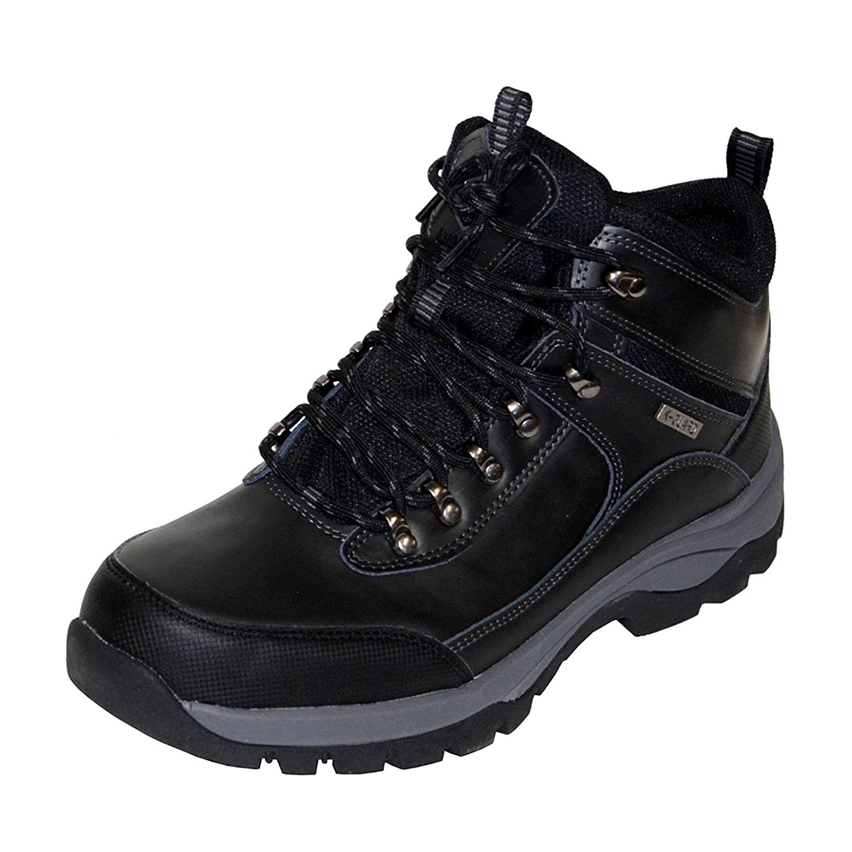 23ddbf8b6e7 Khombu Men's Leather Boot