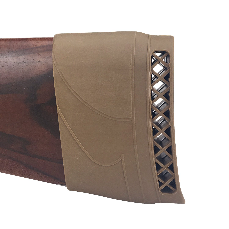 Tourbon Caucho de la Escopeta de Caucho del Recoil Almohadilla de la extremidad Butttock de la extremidad Cojín del talón de Arma P00015-BN