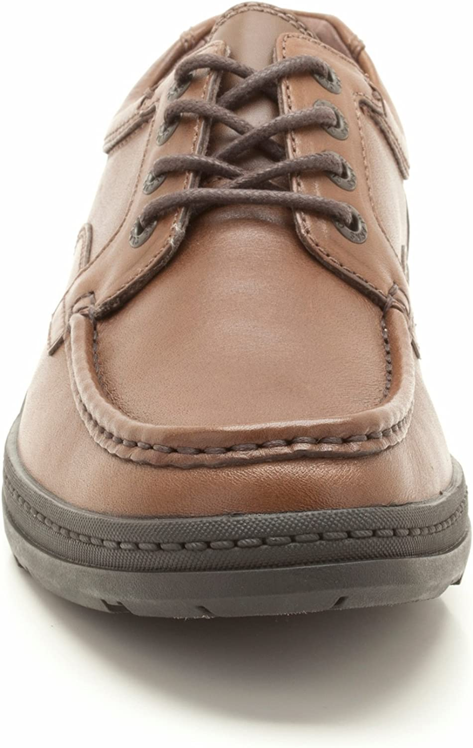 Clarks Line Wall Mens Leather Lace Up Shoes