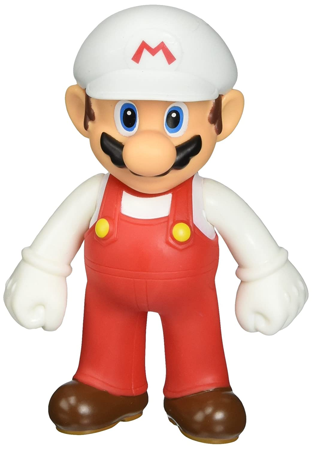 Super Mario Brother 5 Inch Figure Fire Power Mario