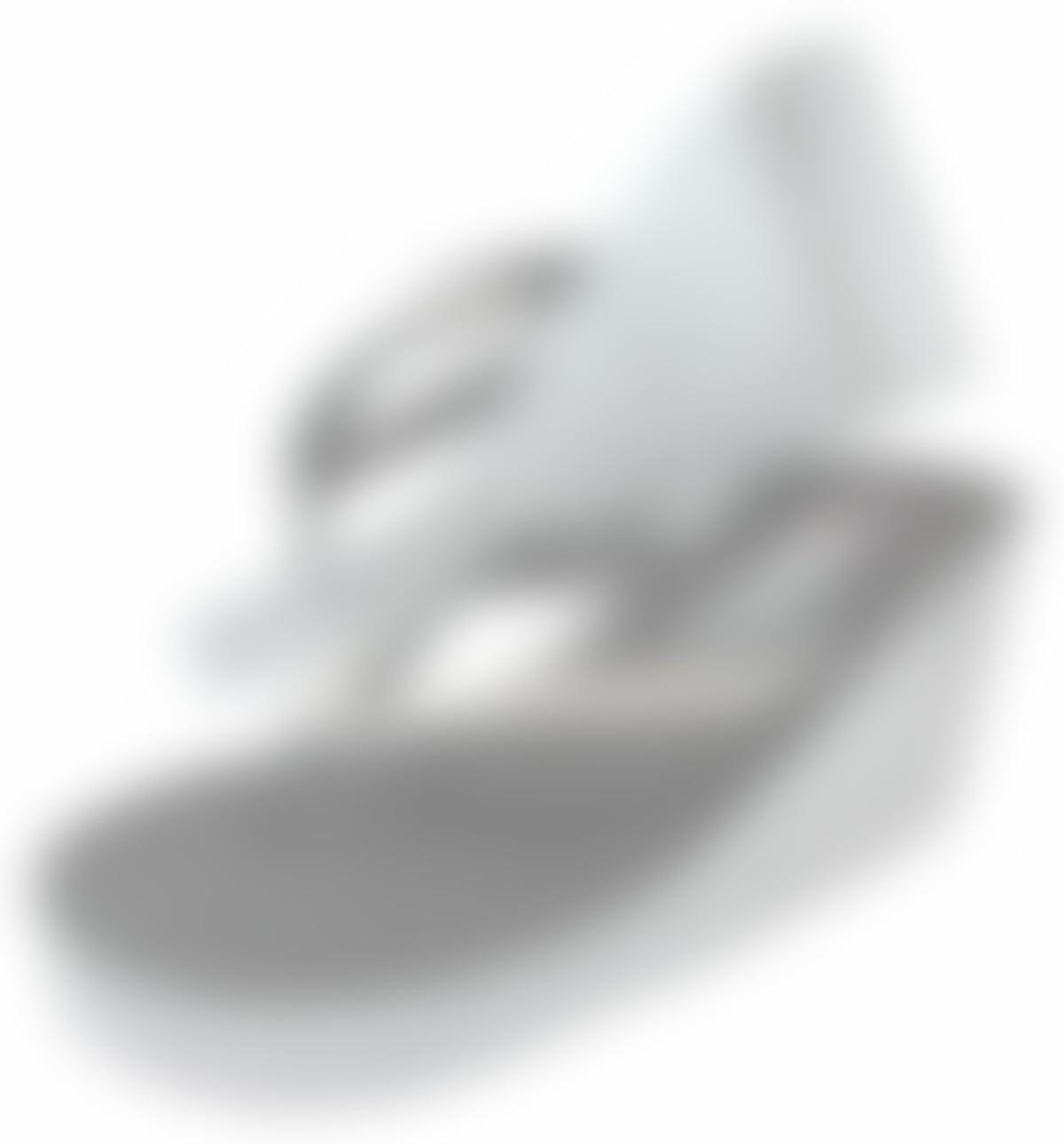 485d7b405a73 Amazon.com  Black   Silver Glitter Diamond Rhinestone Wedge Ivory or White Flip  Flops Sandals with Heel