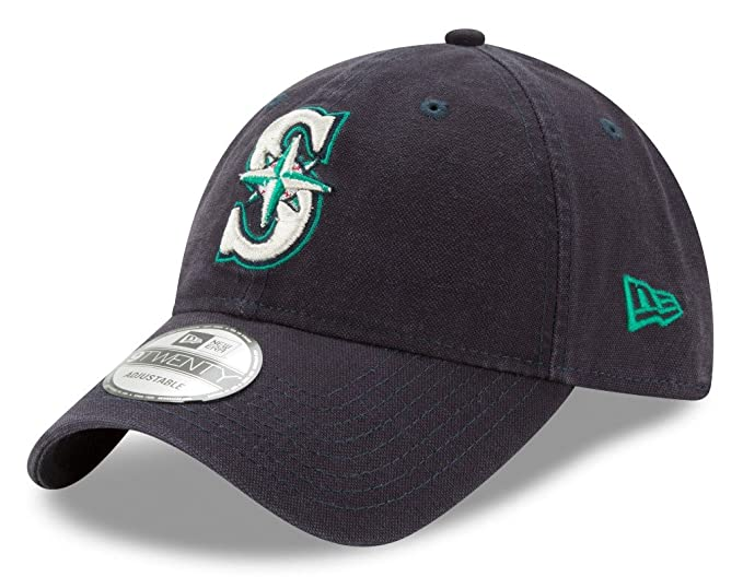 online retailer 51c93 e6ace New Era Seattle Mariners MLB 9Twenty Primary Core Classic Adjustable Hat