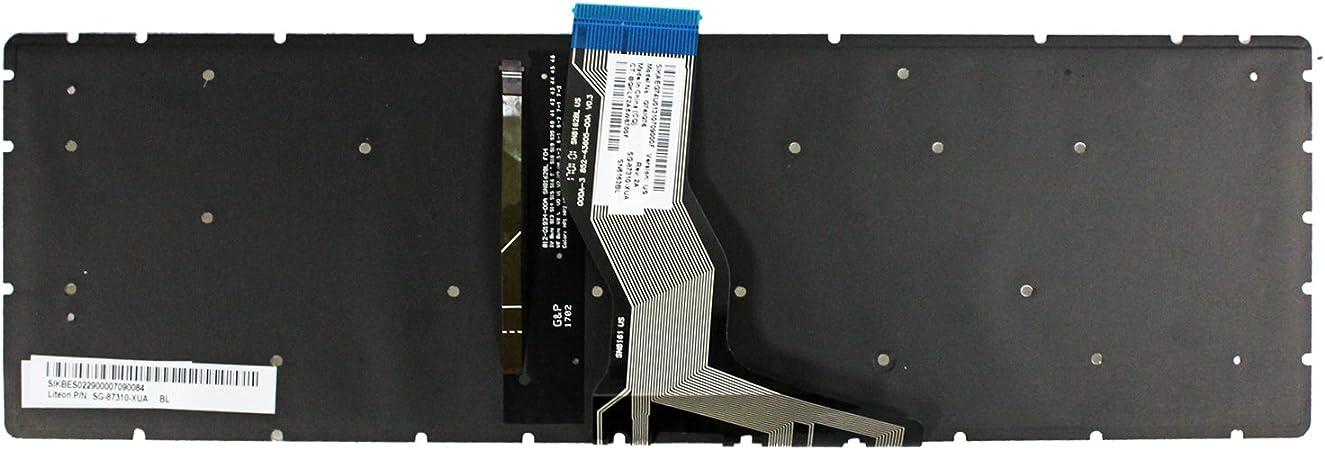 Zahara Laptop US Keyboard with Backlight Replacement for HP 15-cc055od 15-cc564nr 15-cc058nr 15-cc563nr 15-cc060wm 15-cc555nr 15-cc064nr 15-cc553cl