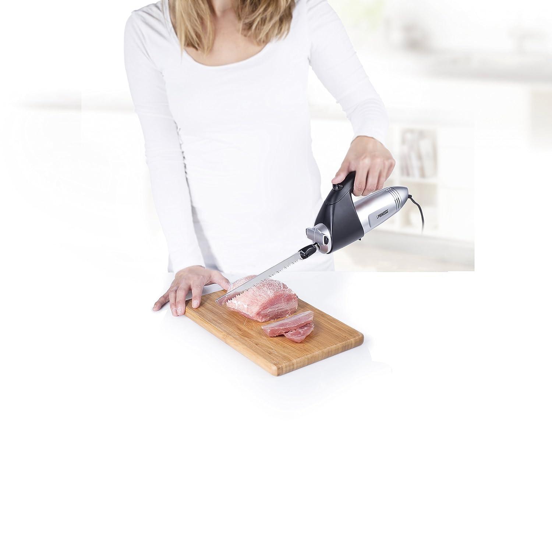 Princess 492952 - Cuchillo eléctrico con asa ergonómica, dos cuchillas: Amazon.es: Hogar