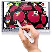 Longruner 5 Inch Touch Screen 800x480 TFT LCD Display for Raspberry Pi 3 2 Model B RPi 1 B B+ A A+ LSC5A white 5 inch…