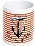 Küstenluder SEEMANNSLIEBE Anchor Streifen TASSE/BECHER Rockabilly