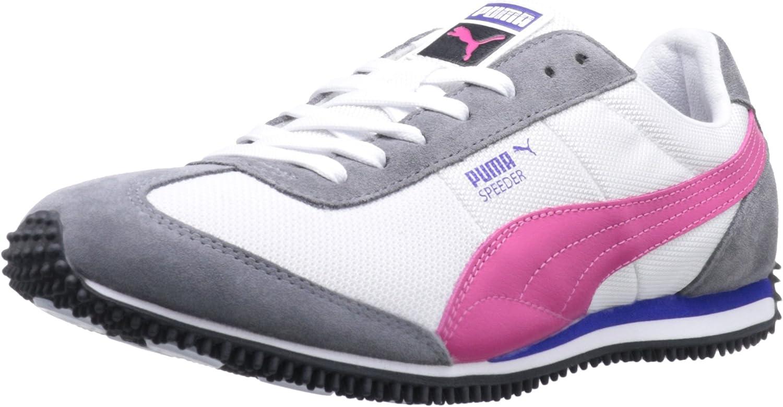 italiano explosión También  Amazon.com: Puma Women 's Speeder M II Moda Zapatillas, Blanco: Shoes