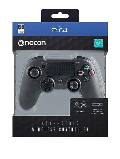 low price sale latest fashion best selling Nacon Asymmetric Wireless Manette de Jeu PC,Playstation 4 Noir -  Accessoires de Jeux vidéo (Manette de Jeu, PC,Playstation 4,  Analogique/Numérique, ...