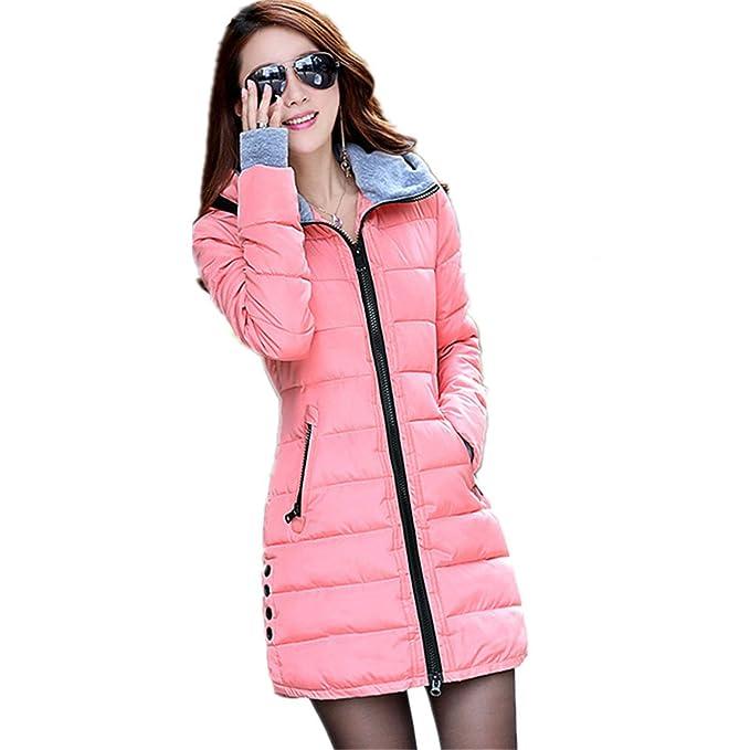 Amazon.com: Dapengzhu New Winter Jacket Women Parka With Gloves Cotton Maxi Wadded Jackets Coats Plus Size Long Jacket C2261 Dark Green XXXL: Clothing
