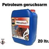 Bidón de petróleo, para una combustión limpia de CAGO.