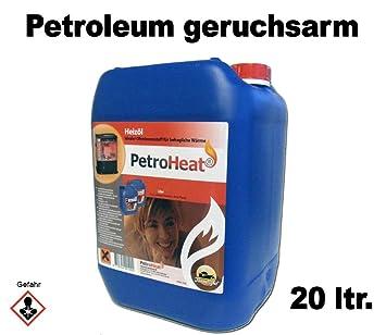 PetroHeat rojas de parafina 20 Litros: Amazon.es: Bricolaje y herramientas