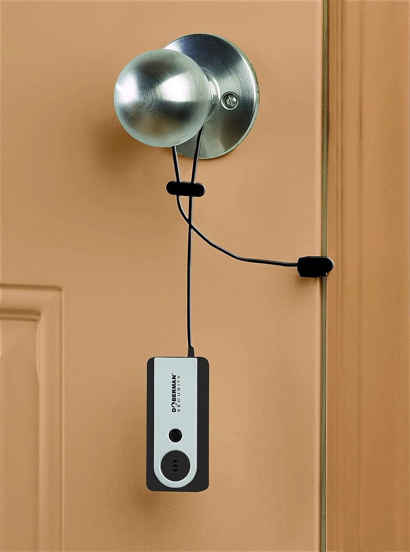 Doberman Security Portable Door Alarm With Flash Light Home Alarms Entry Circuit 1 Personal Camera Photo