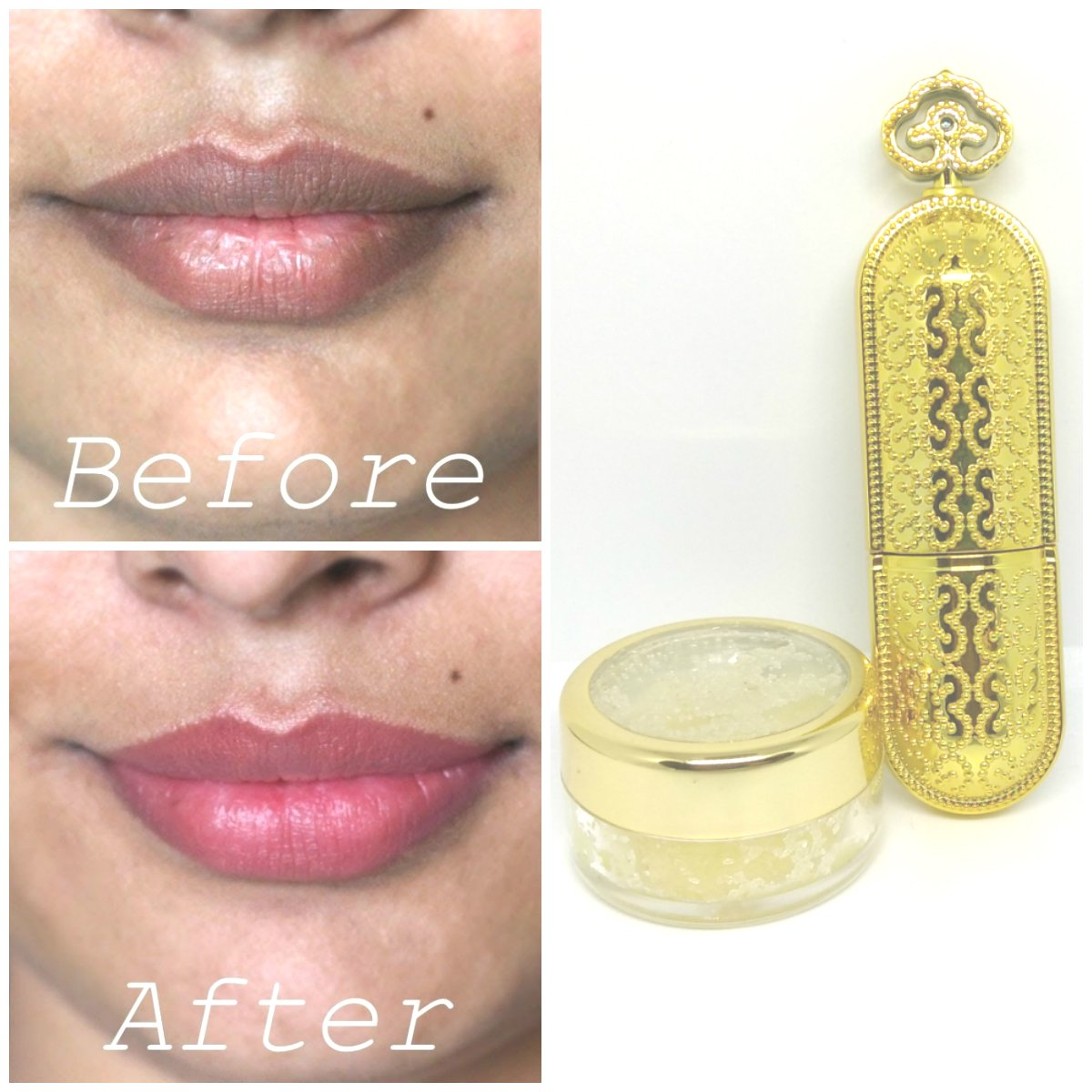Luxury lip lightening for dark lips,lip exfoliator and moisturizer,Lip Scrub,Lip Care, Lip Balm,