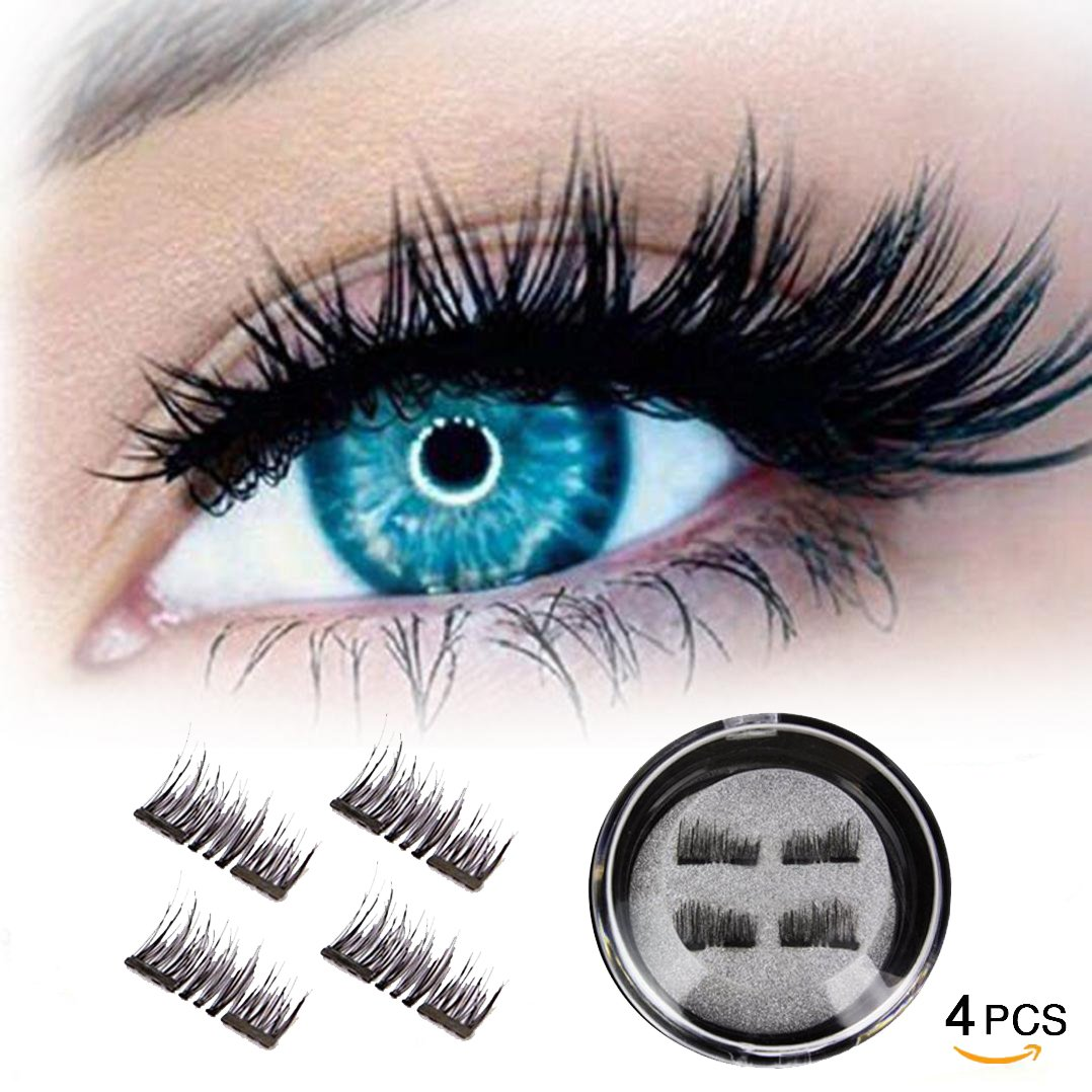 Amazon Half Eye Magnetic Eyelashes Ultra Thin No Glue Reusable