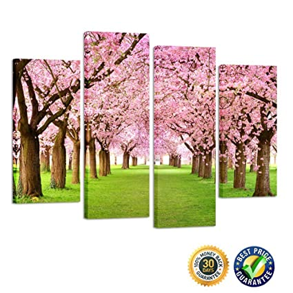 Amazon.com: Kreative Arts - 4 Pieces Large Cherry Blossom Trees ...