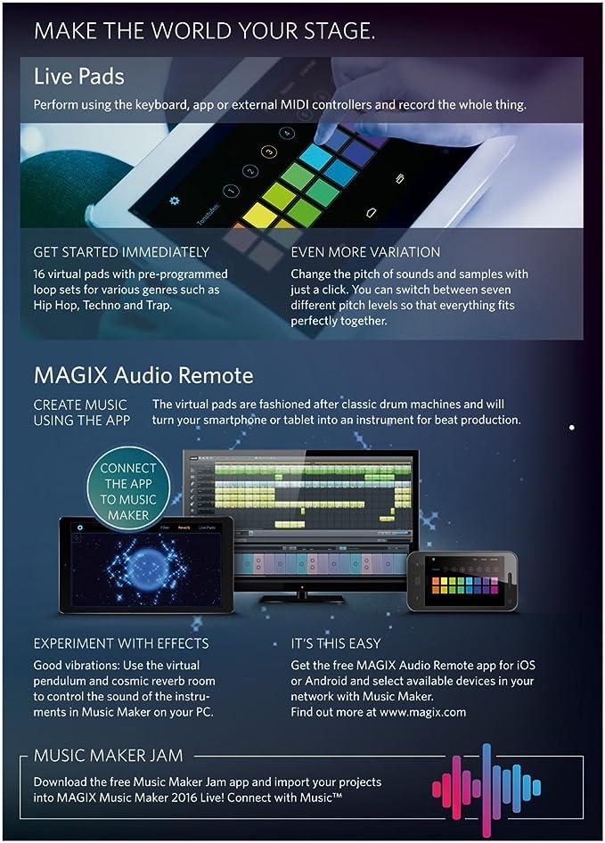 Magix music maker import mp3