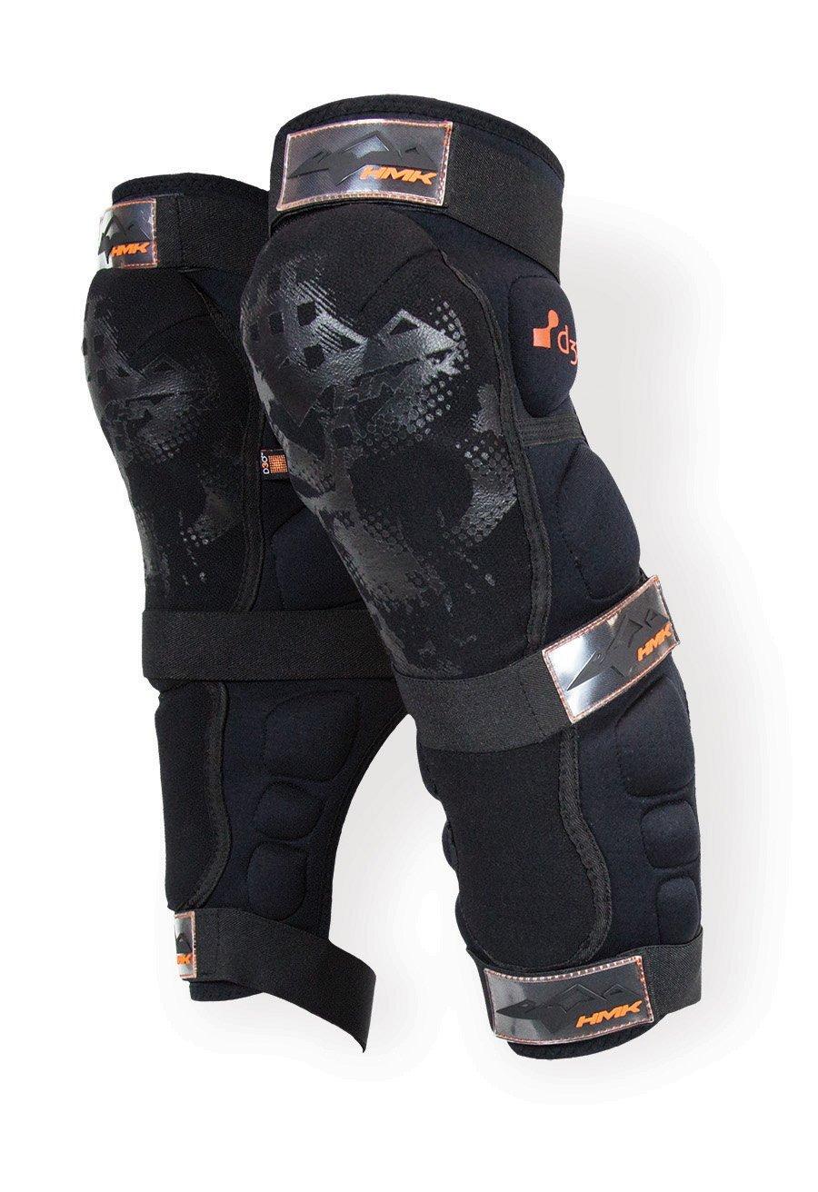 HMK Mens Knee//Shin Guard Black, Small