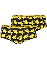 Pokemon Pikachu Ladies Knickers Hipster Brief Briefs Hipsters