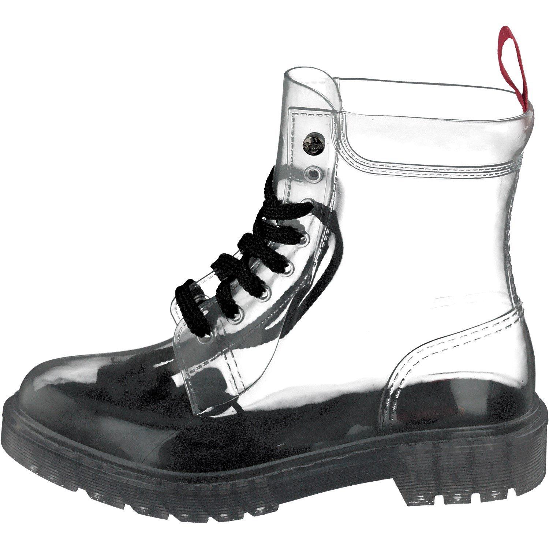 fa70e290e542ff GOSCH SHOES Damen Boots Schuhe Stiefel Wasserfest durchsichtig7105-150-0 in  PVC  Amazon.de  Schuhe   Handtaschen