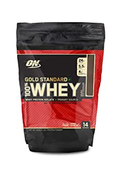 Optimum Nutrition (ON) Gold Standard 100% Whey Protein Powder - 1 lb (Double Rich Chocolate) Whey Proteins at amazon