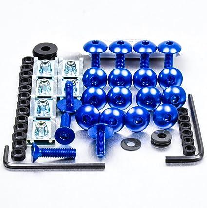 Kit visserie car/Ã/©nage en aluminium K1200S 06-08 Noir